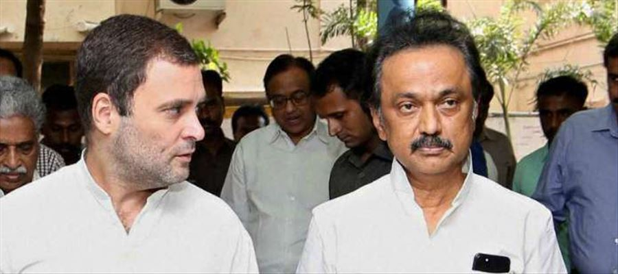 Is there a show of unity between Rahul Gandhi & MK Stalin?
